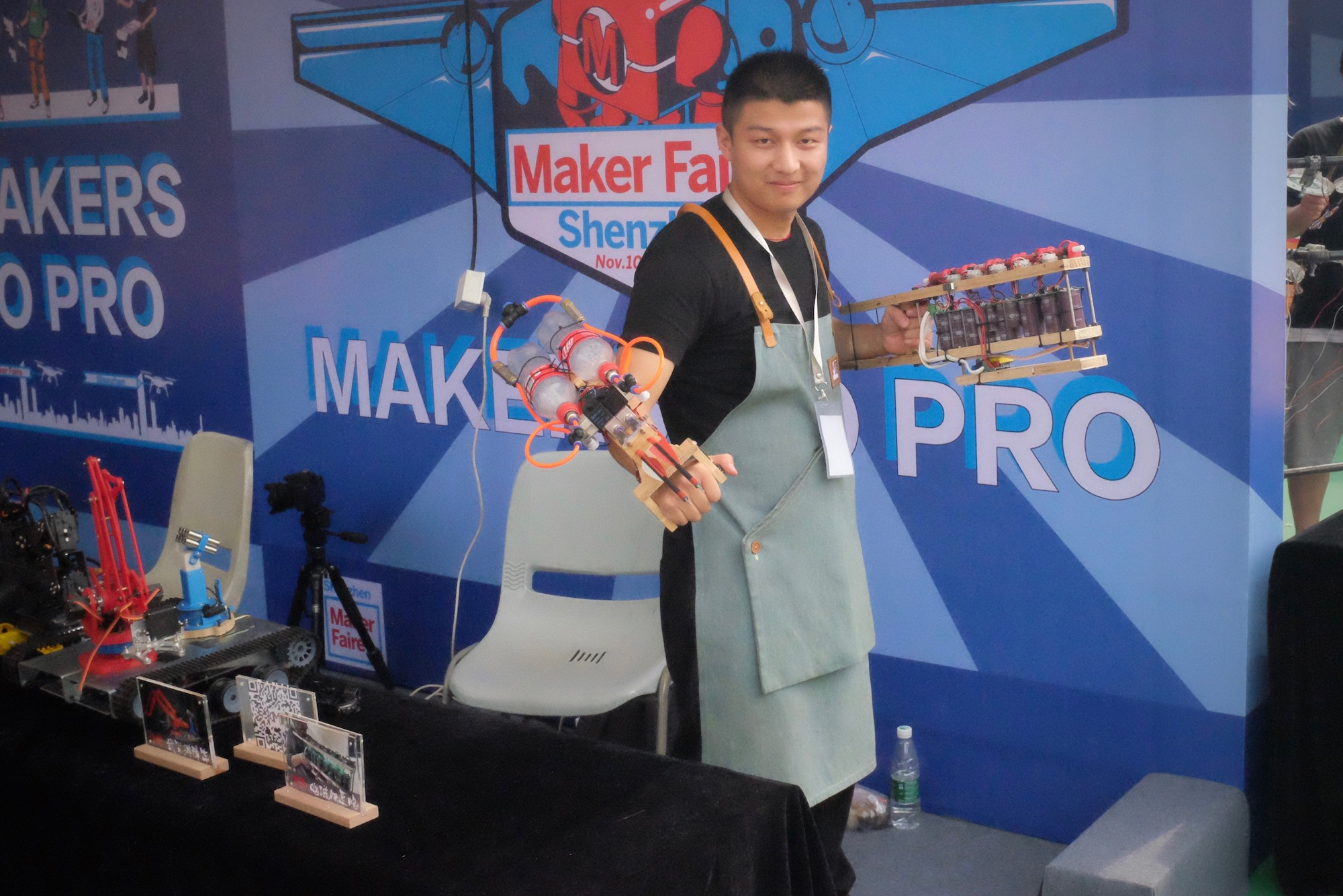 Maker T and his Wolverine arm